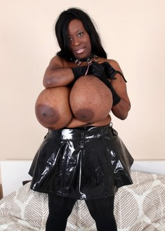 Unreal huge tits, black women with..