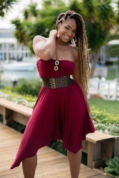 Tanned, ebony model from the Rio..