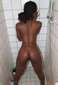 Sexy black girlfriends nude in the..