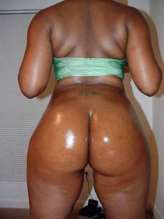Young Black Girl Cum Covered