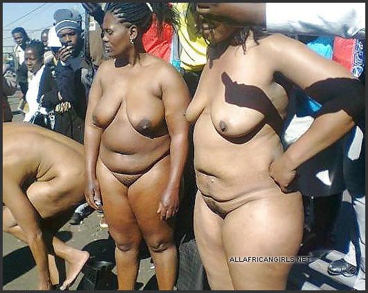 black mature nude